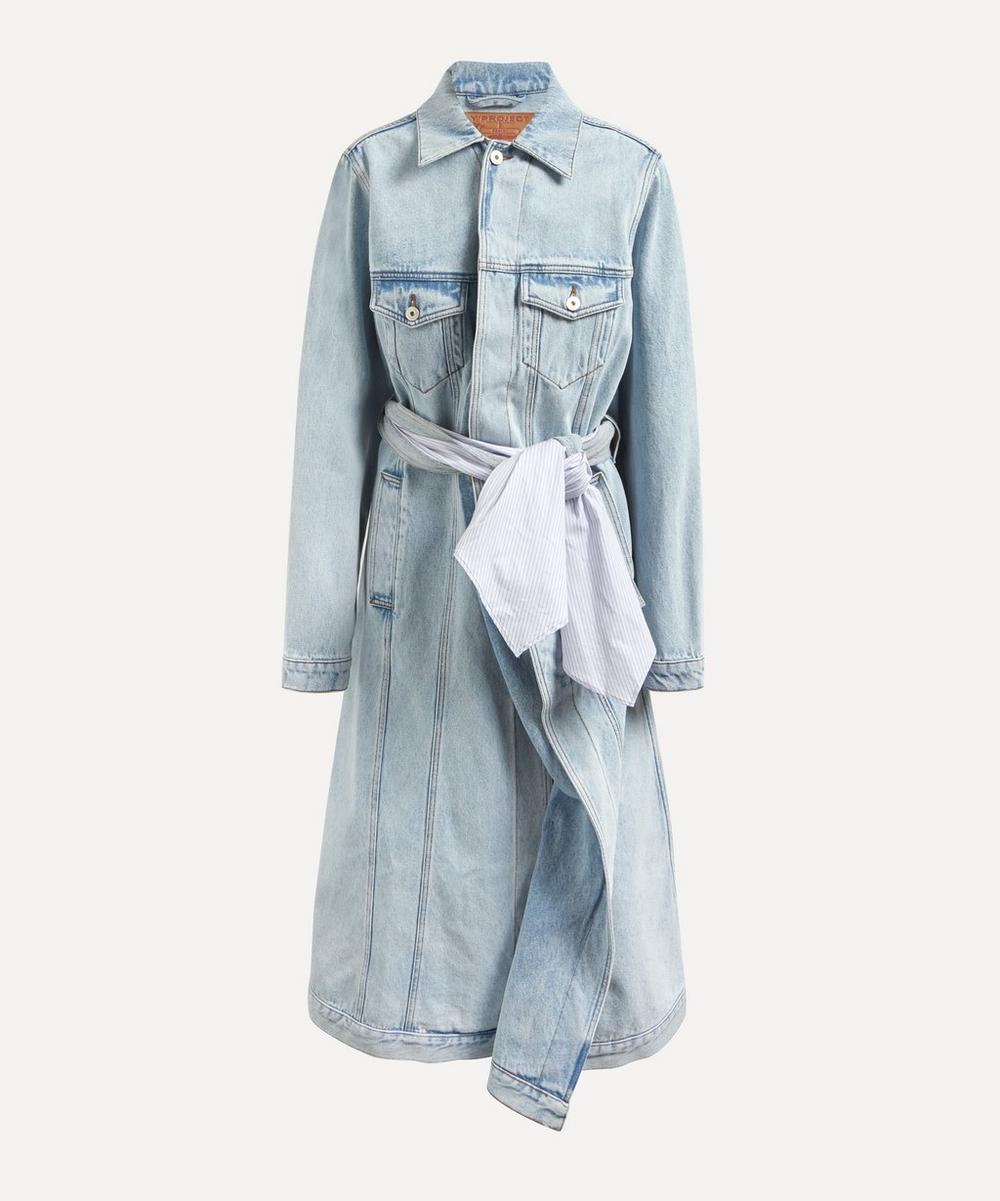 Y/PROJECT - Pulled Lining Denim Coat
