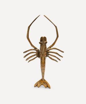 Brass Lobster Display Ornament
