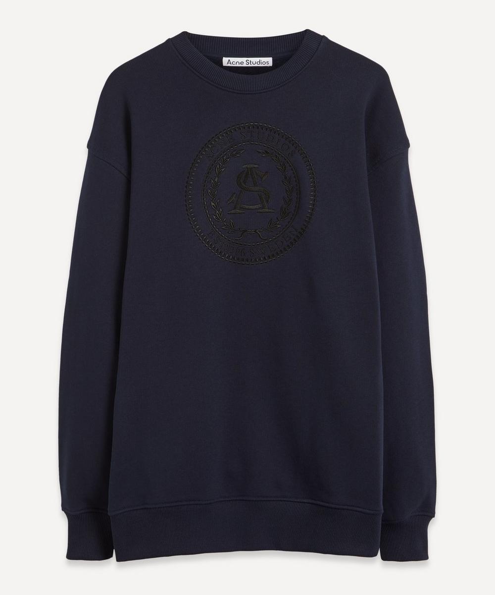 Acne Studios - Oversized Embroidered Sweatshirt