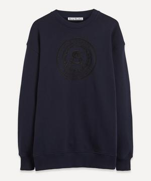 Oversized Embroidered Sweatshirt