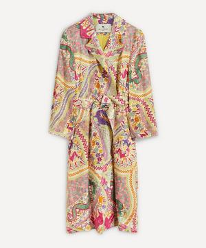 Printed Silk Coat