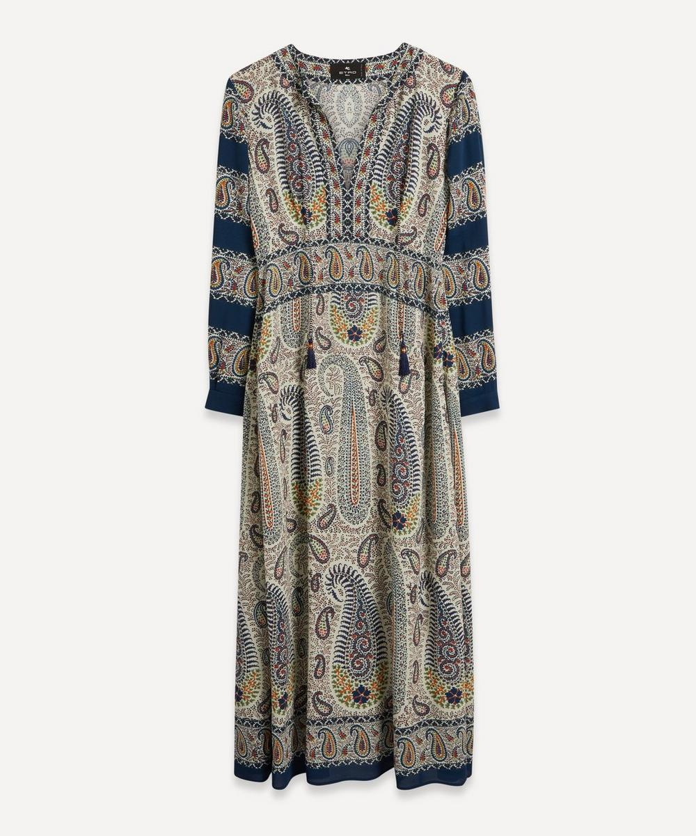 Etro - Mosaic Paisley Print Dress