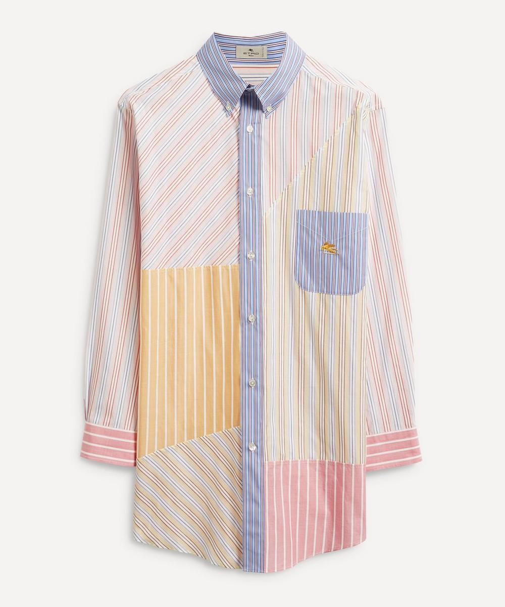 Etro - Multi-Stripe Cotton Shirt