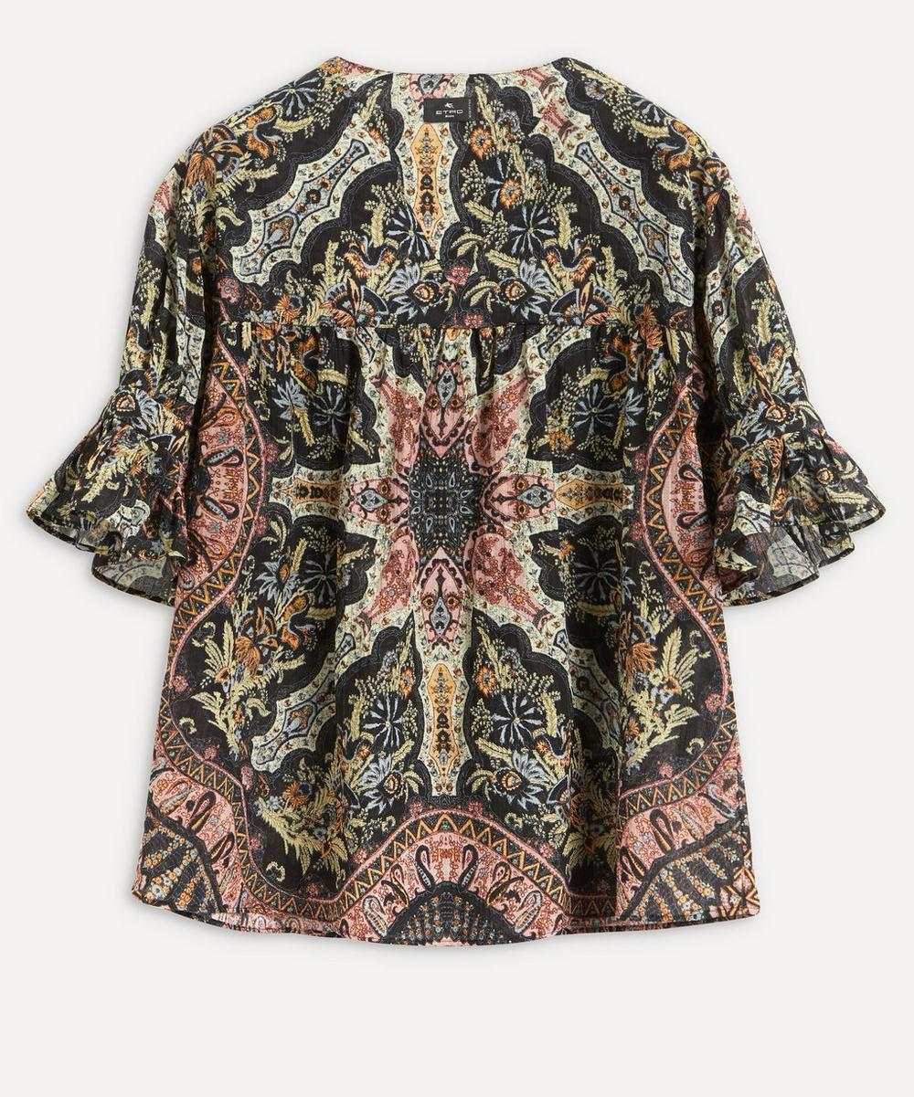 Etro - Paisley Pattern Cotton Top