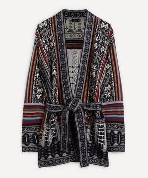 Maglia Pattern Wool-Blend Cardigan