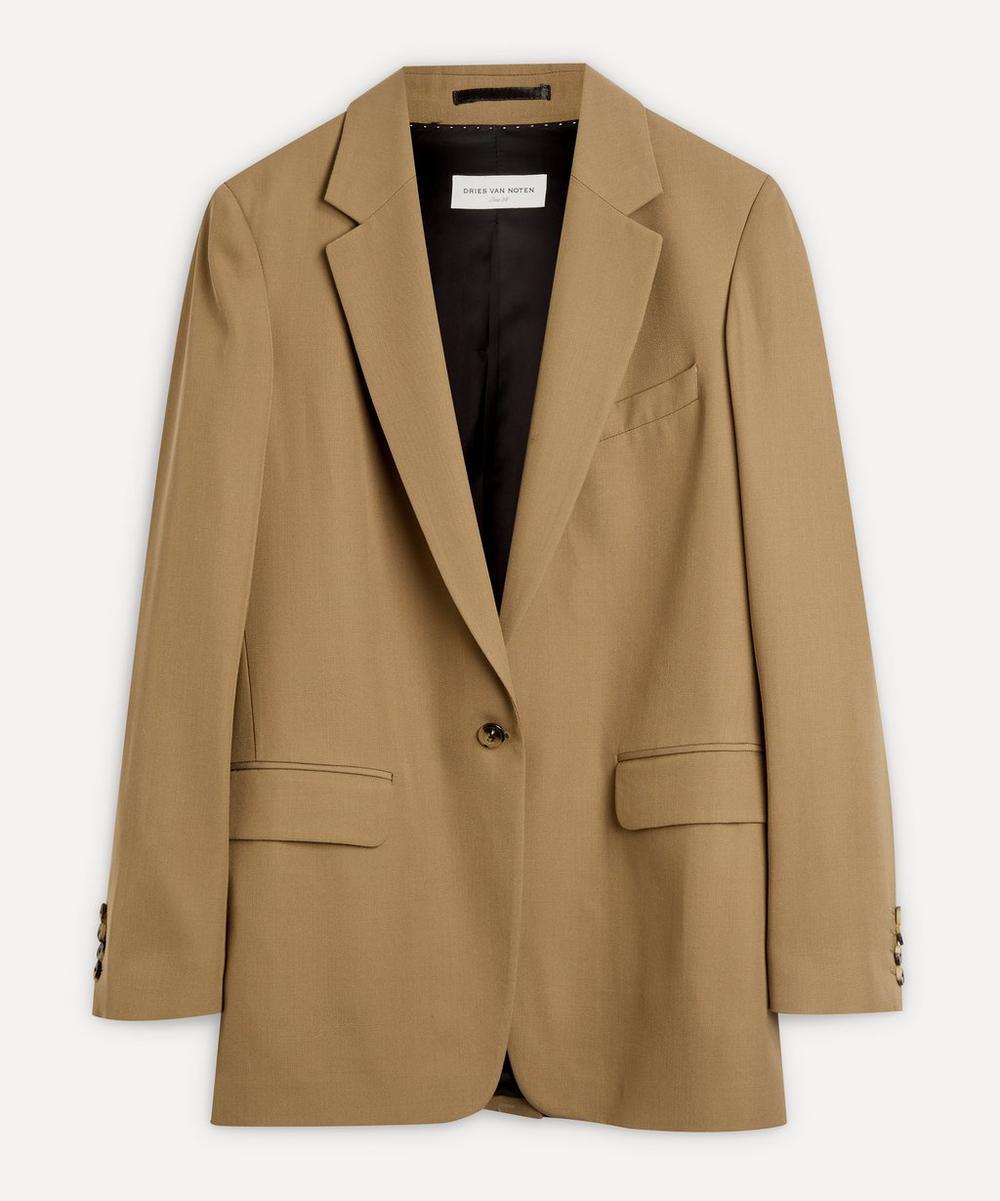Dries Van Noten - Fluid Single-Breasted Jacket