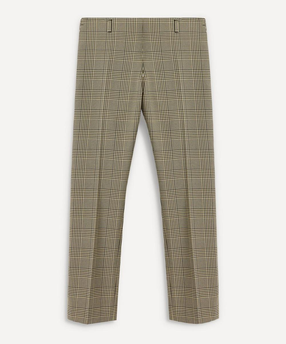 Dries Van Noten - Prince of Wales Check Straight-Leg Trousers
