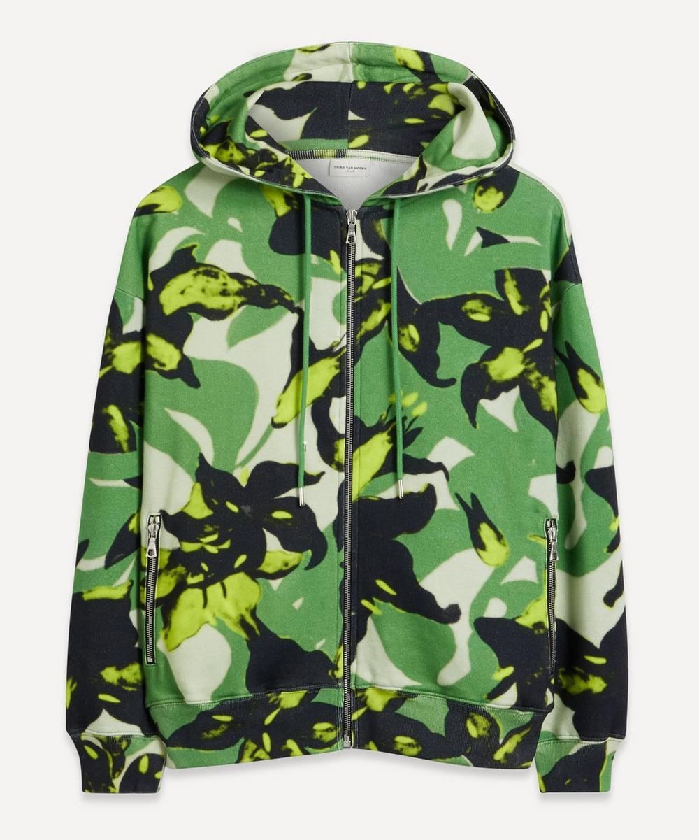 Dries Van Noten - Flower Print Hooded Sweatshirt