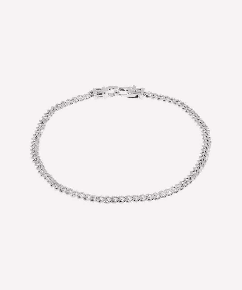 Tom Wood - Silver Medium Curb Bracelet
