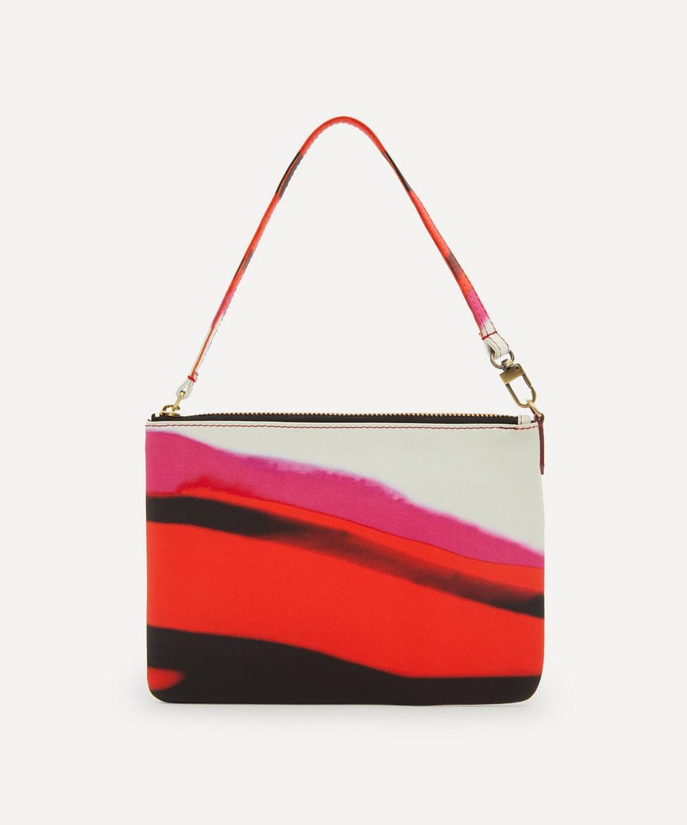 Dries Van Noten - Striped Zip Pouch Bag