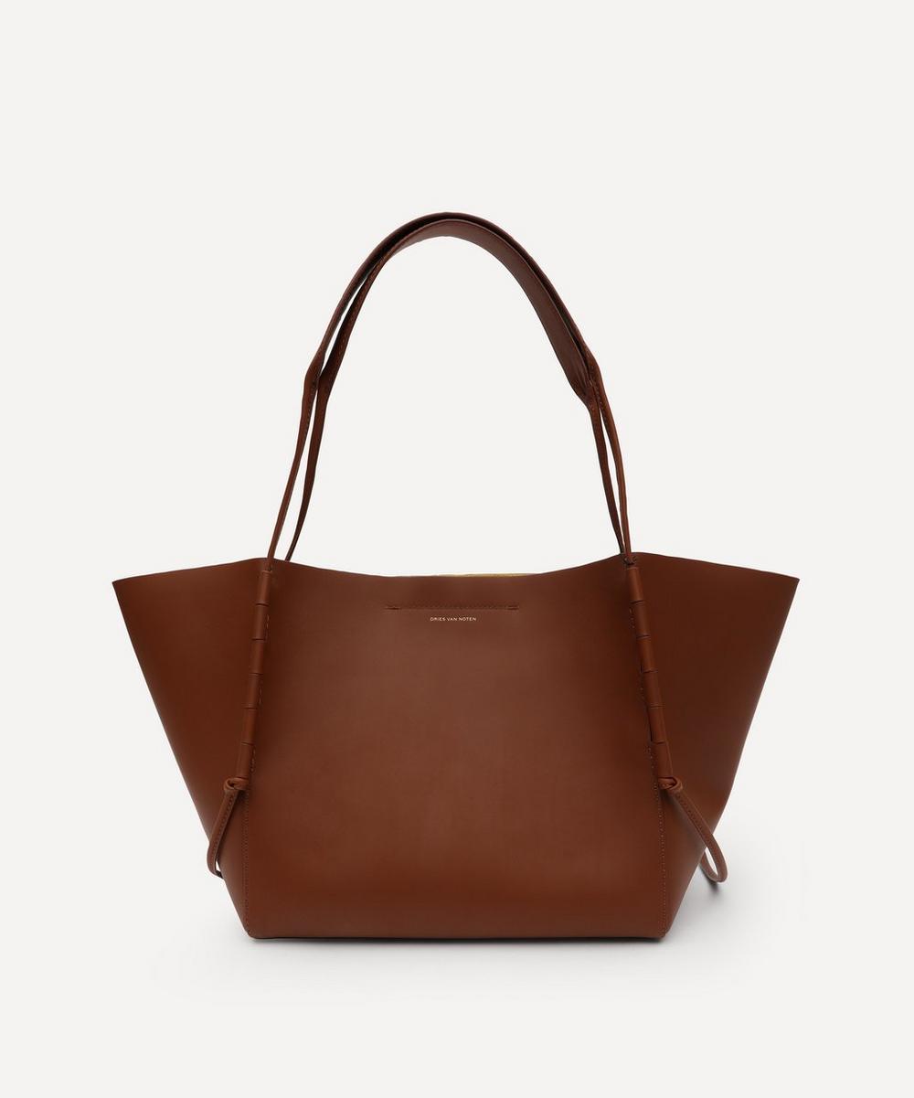 Dries Van Noten - Leather Tote Bag