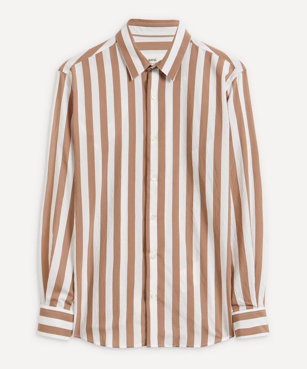 Ami - Oversized Striped Shirt
