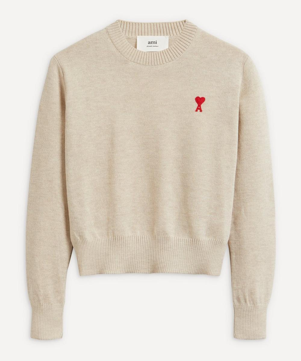 Ami - Extra-Fine Merino Wool Jumper