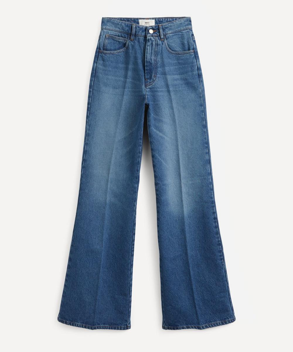 Ami - Flared Cotton Jeans
