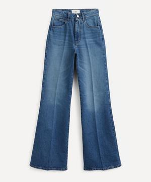 Flared Cotton Jeans