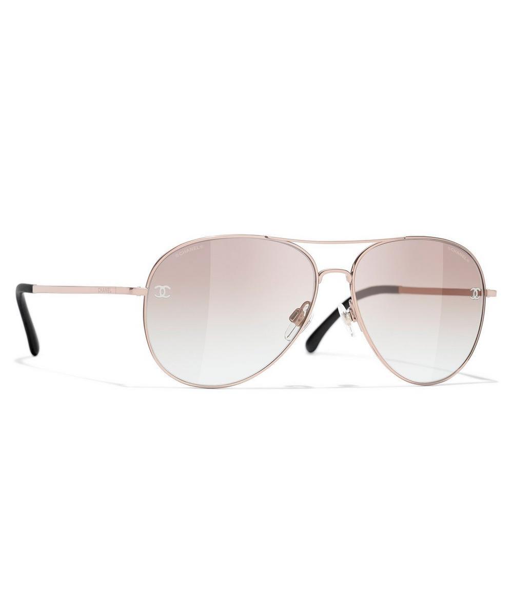 Chanel - Pilot Sunglasses
