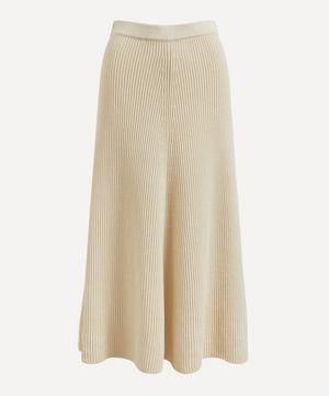 Egyptian Cotton Knit Skirt