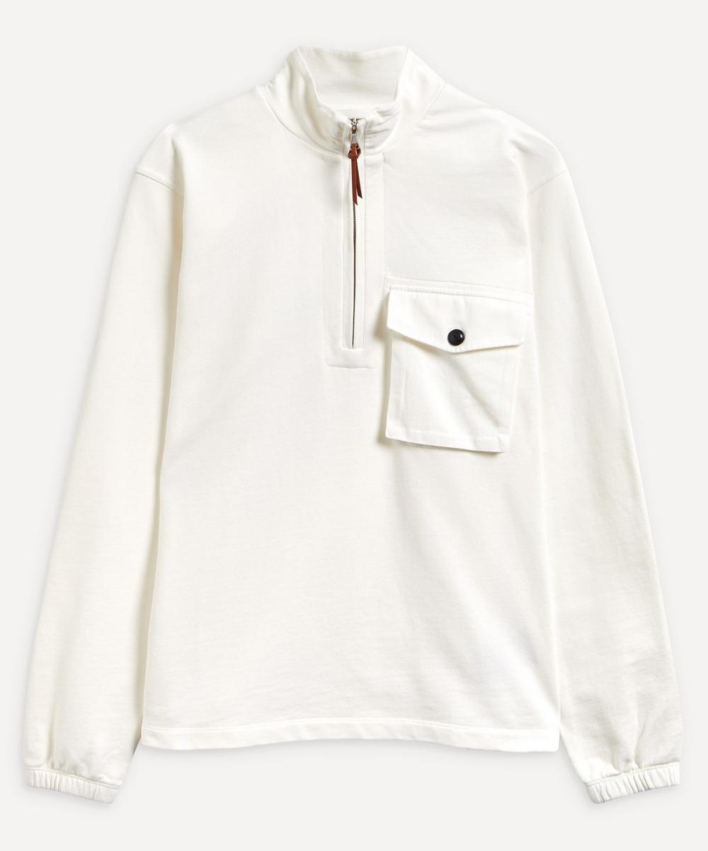 Albam - Quarter Zip Pocket Sweater