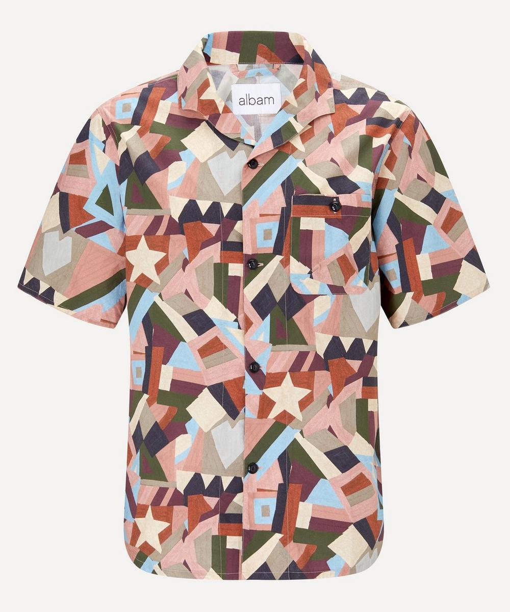 Albam - Geometric Print Miles Shirt