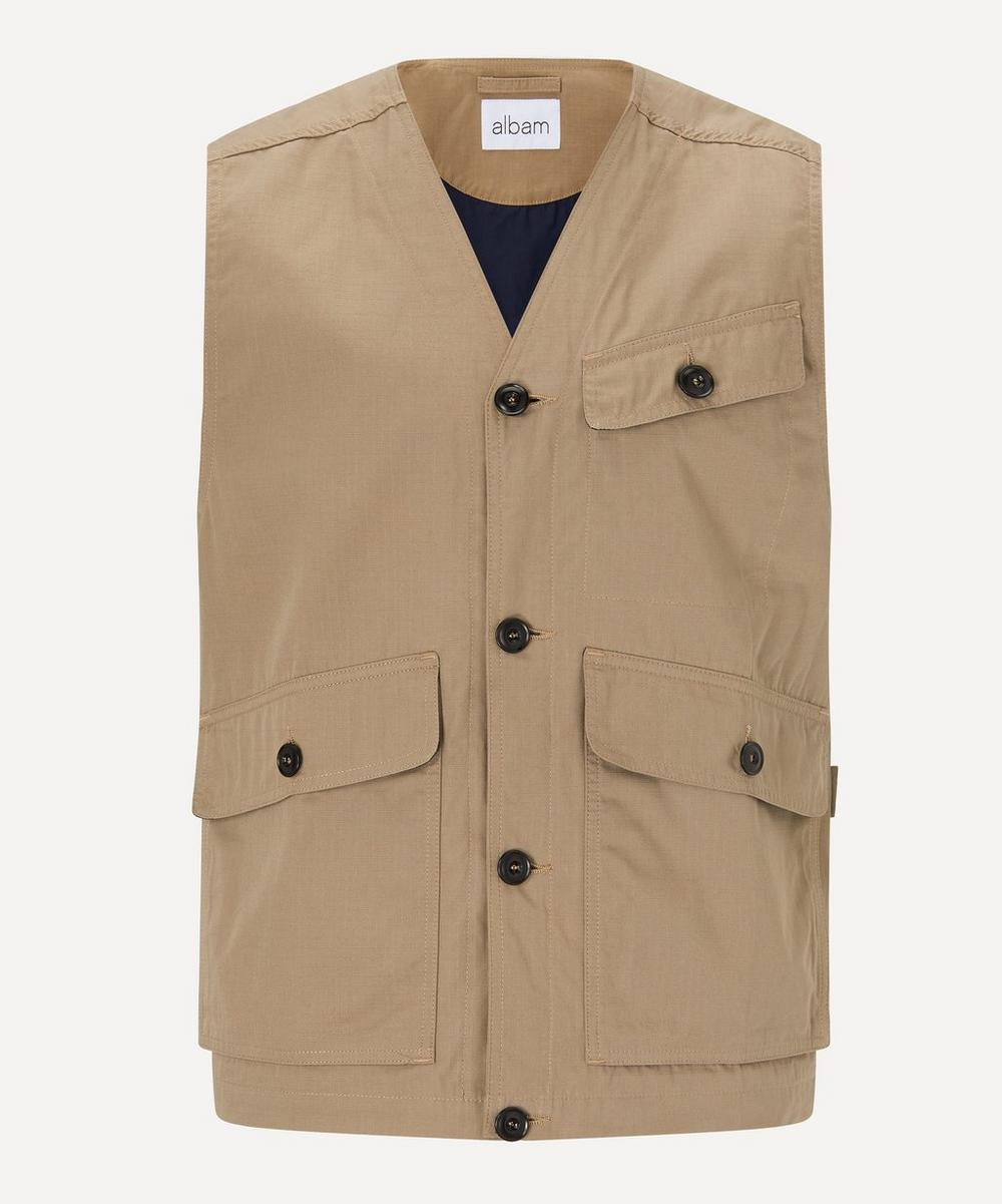 Albam - Utility Cotton Flight Vest