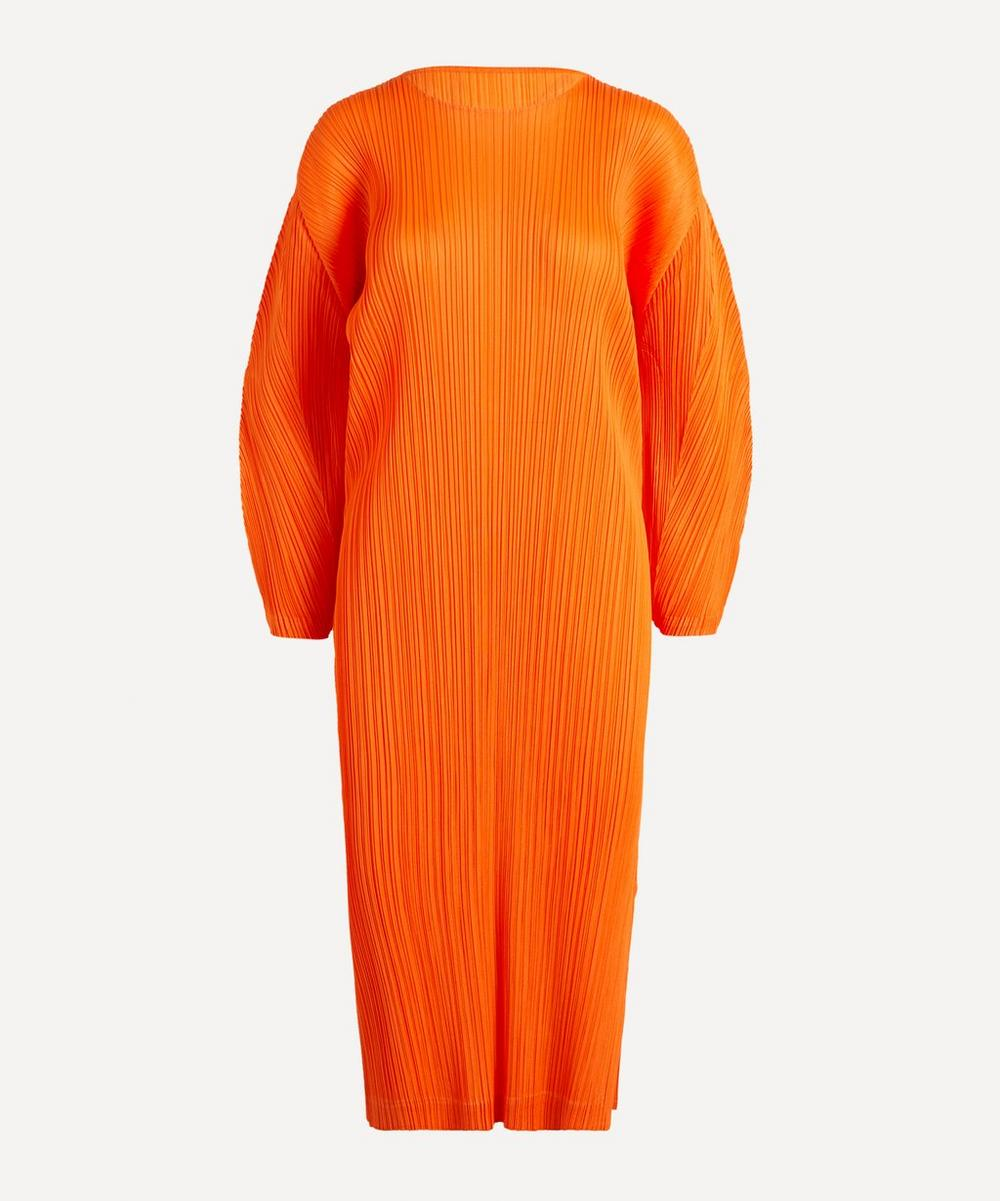 Pleats Please Issey Miyake - January Monthly Colours Long Dress