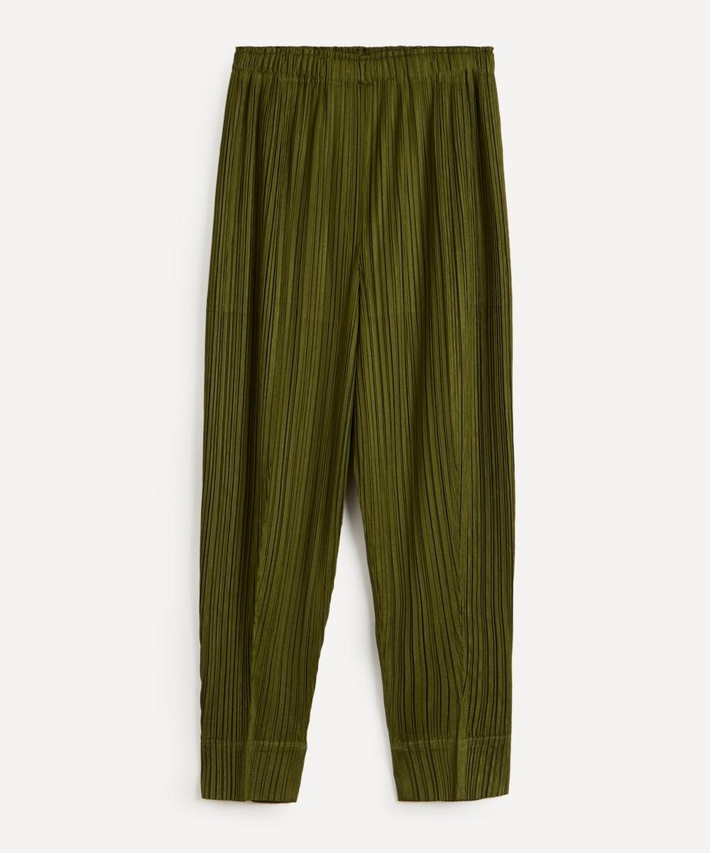 Pleats Please Issey Miyake - January Monthly Colours Trousers