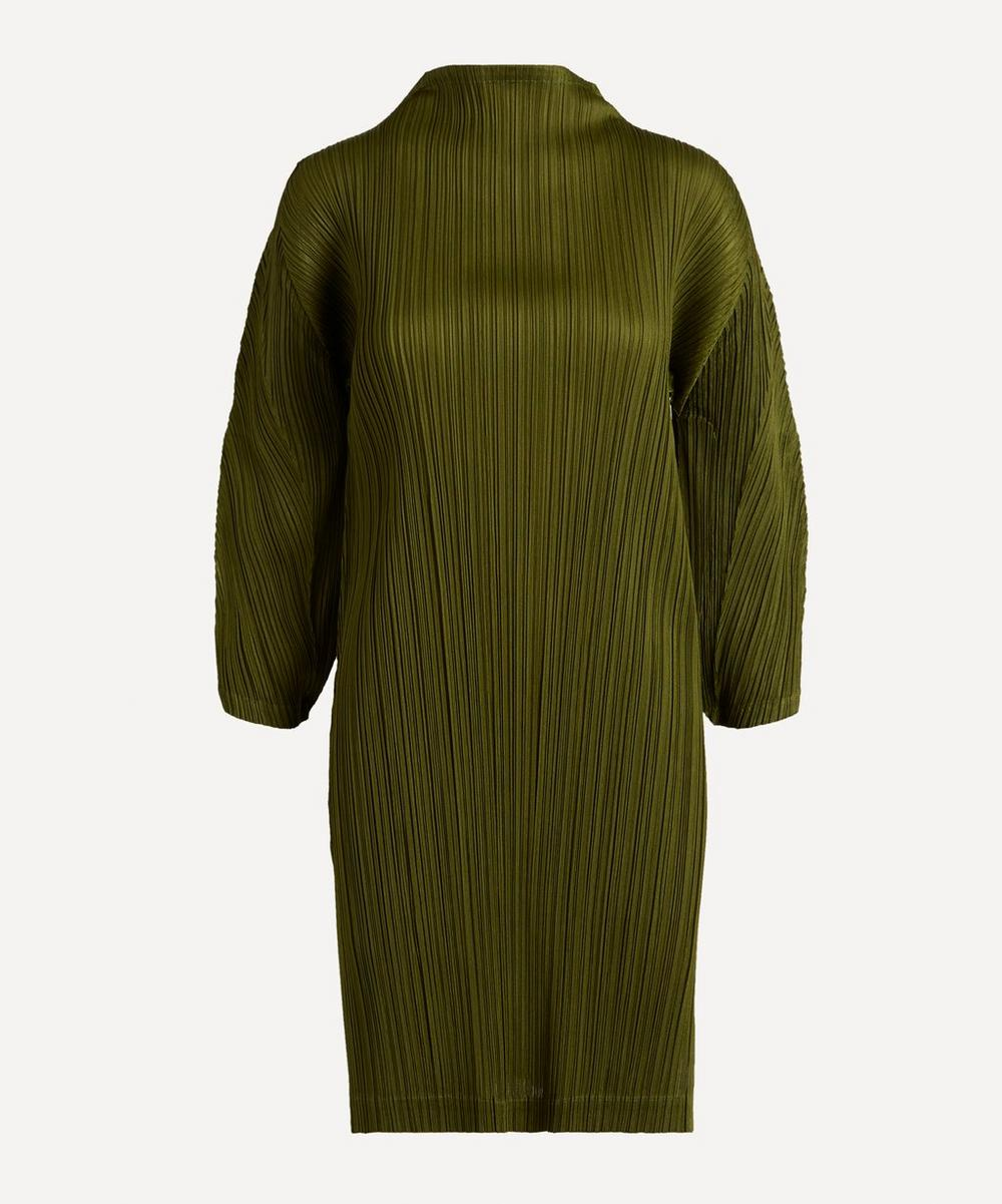Pleats Please Issey Miyake - January Monthly Colours Cowl-Neck Dress