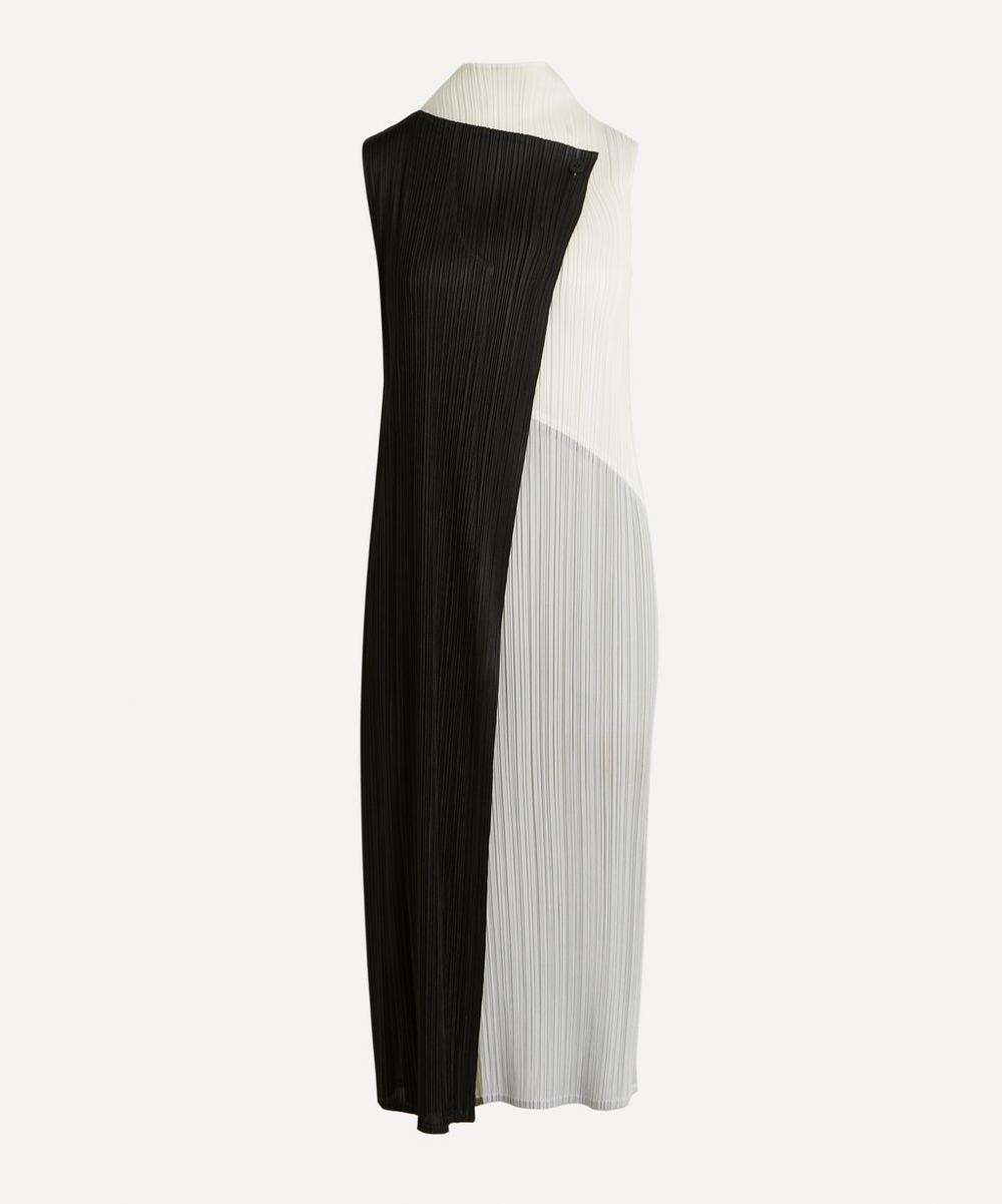 Pleats Please Issey Miyake - Collage Sleeveless Dress