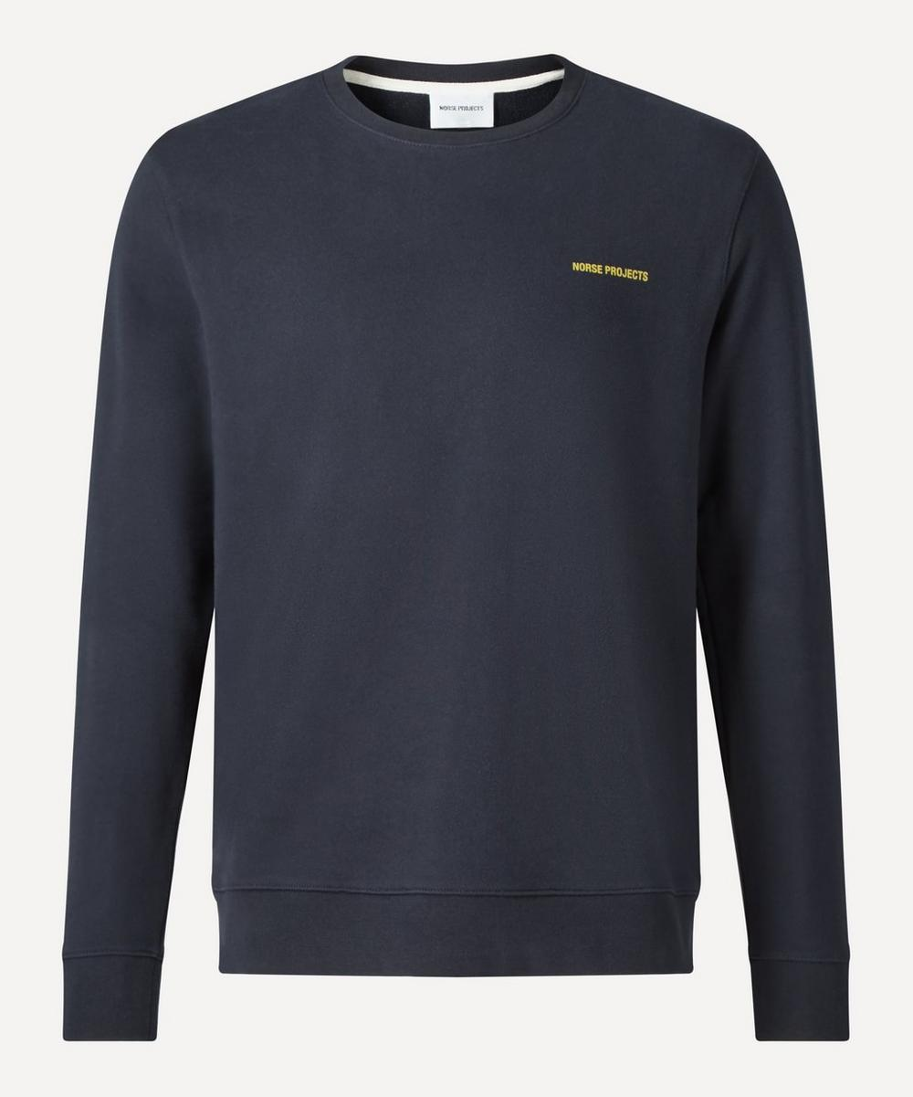 Norse Projects - Vagn Logo Cotton Sweatshirt