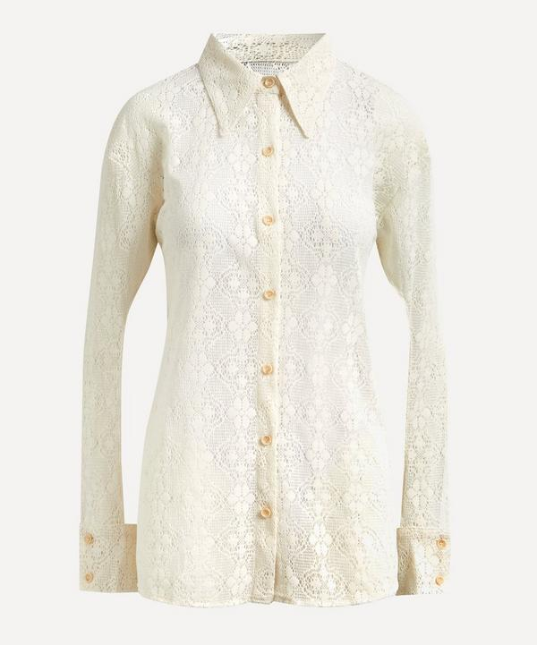 Andersson Bell - Alma Suede Punching Shirt
