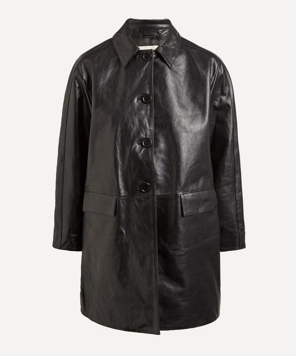 ALEXACHUNG - Mulholland Leather Overcoat