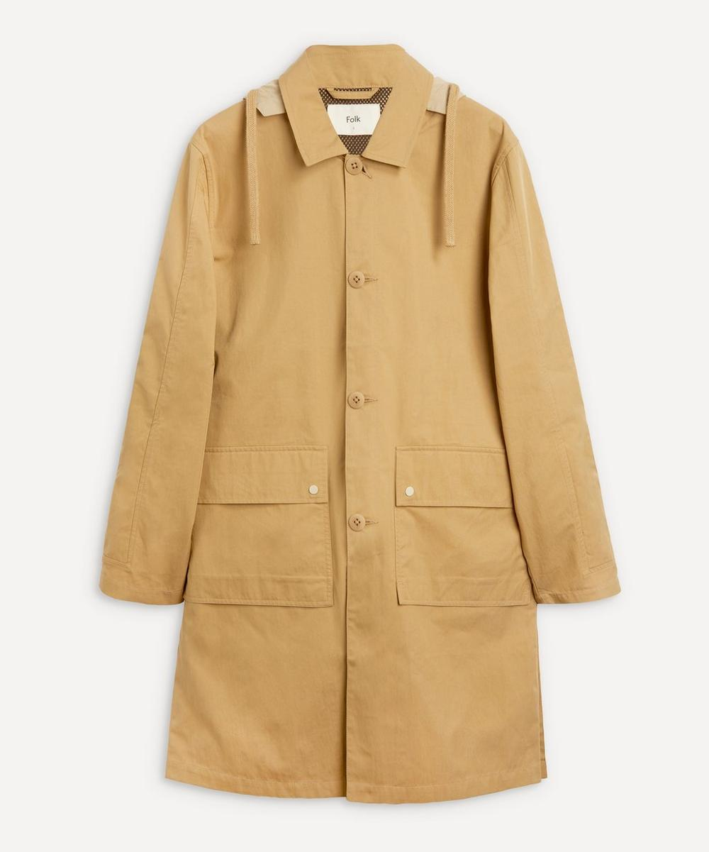 Folk - Hooded Mac Coat