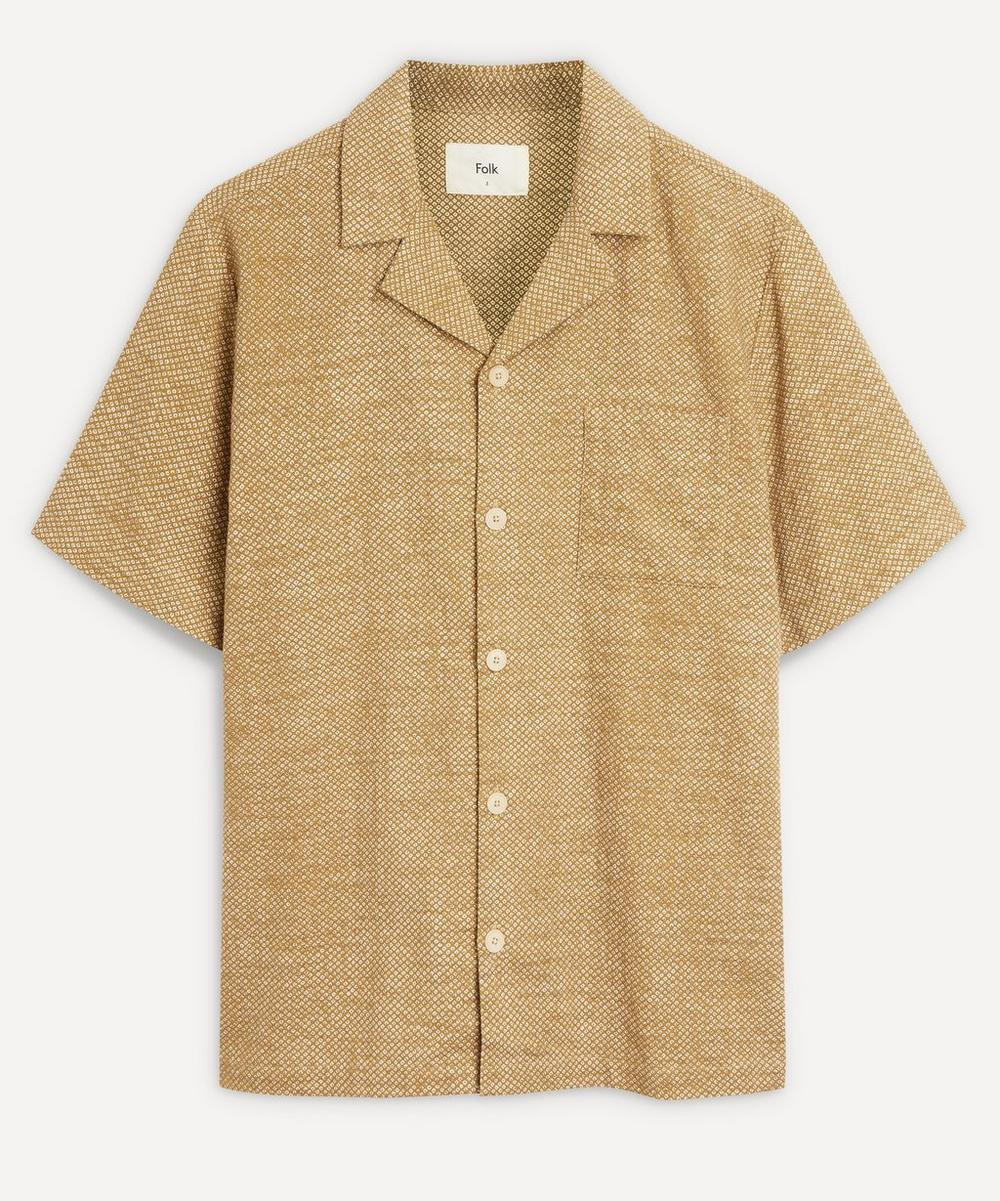Folk - Soft Collar Short-Sleeve Shirt