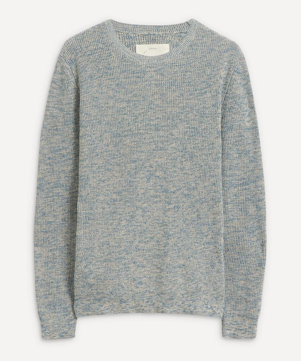 Folk - Ripple Mélange Wool-Blend Sweater