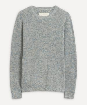 Ripple Mélange Wool-Blend Sweater
