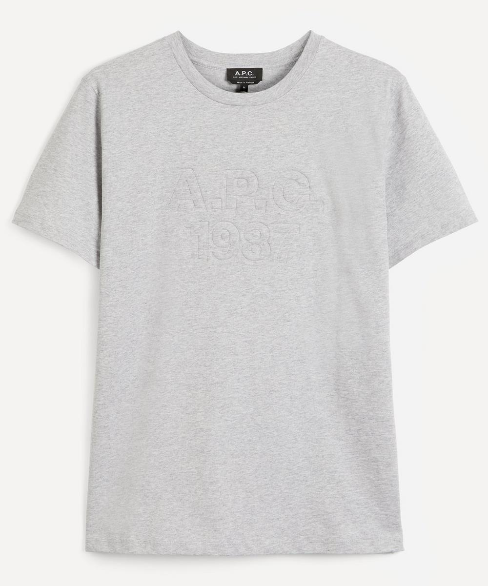 A.P.C. - Hartman Embroidered Logo T-Shirt image number 0
