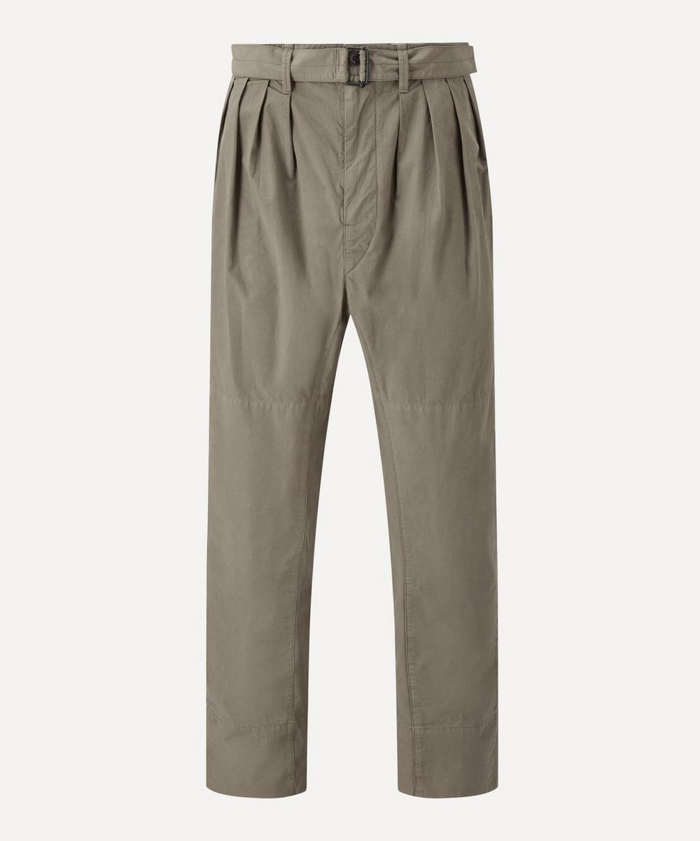 Lemaire - Pleated Cotton Trousers