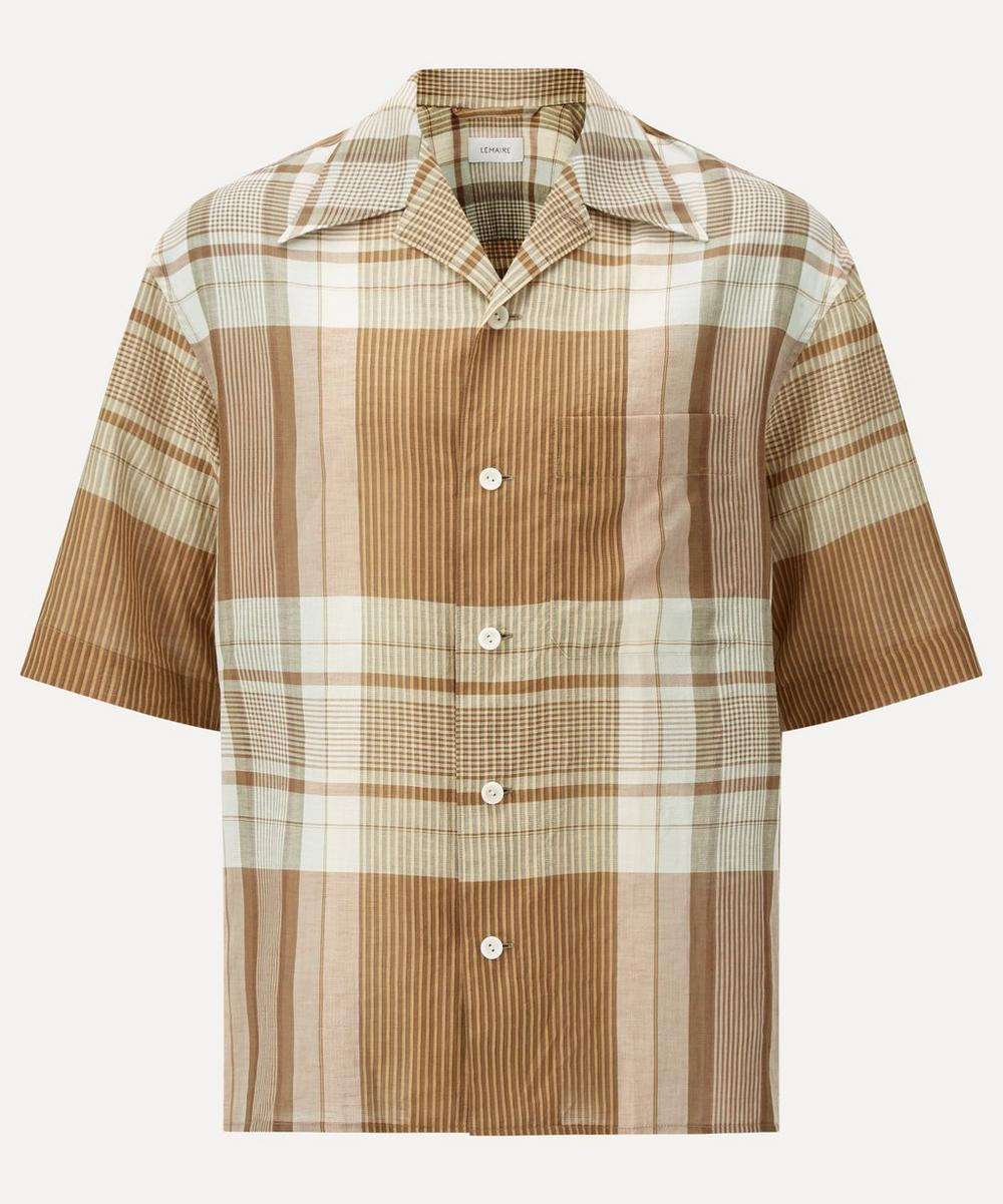 Lemaire - Madras Check Short-Sleeve Shirt