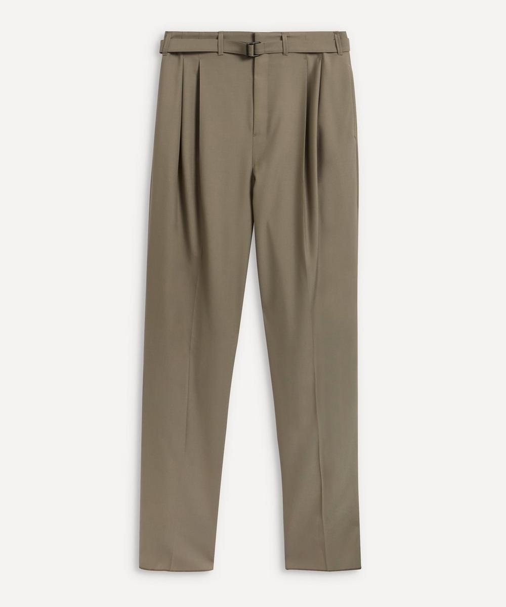 Lemaire - Belted Pleat Trousers