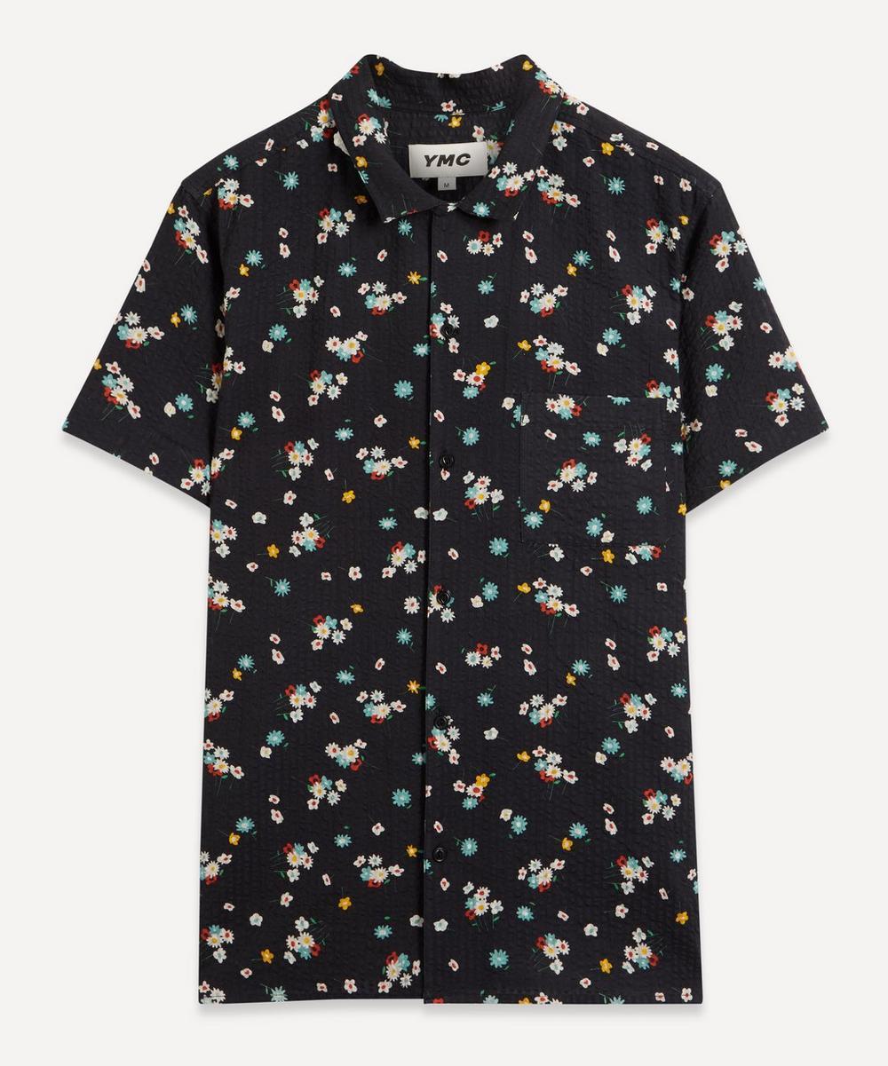 YMC - Malick Floral Seersucker Shirt