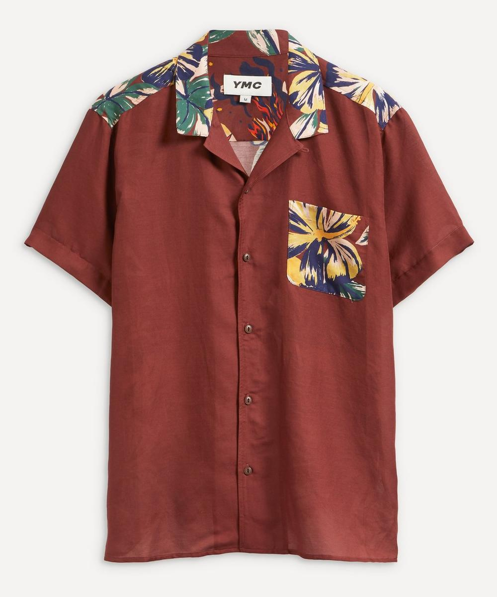 YMC - Malick Printed Silk-Cotton Shirt