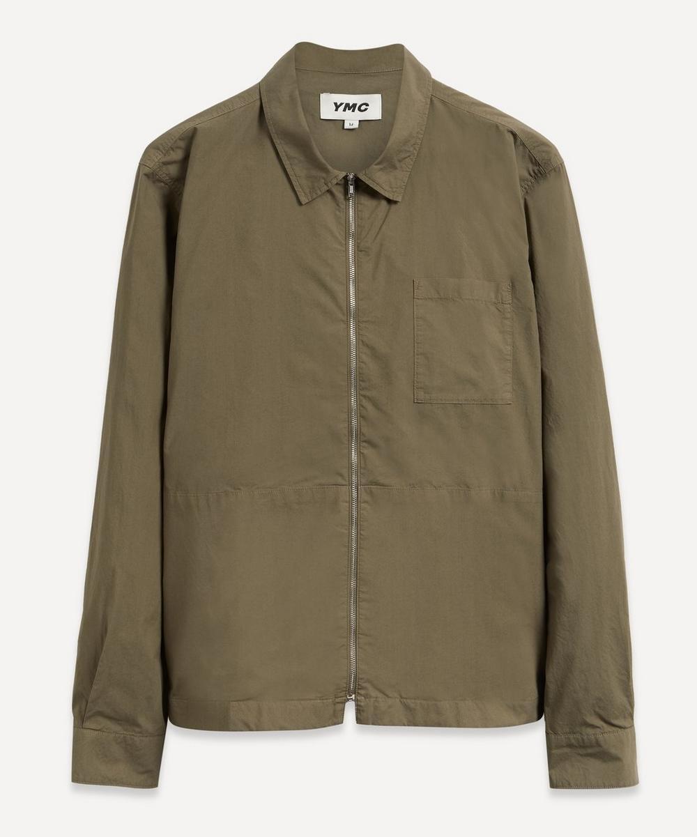 YMC - Bowie Zip Shirt