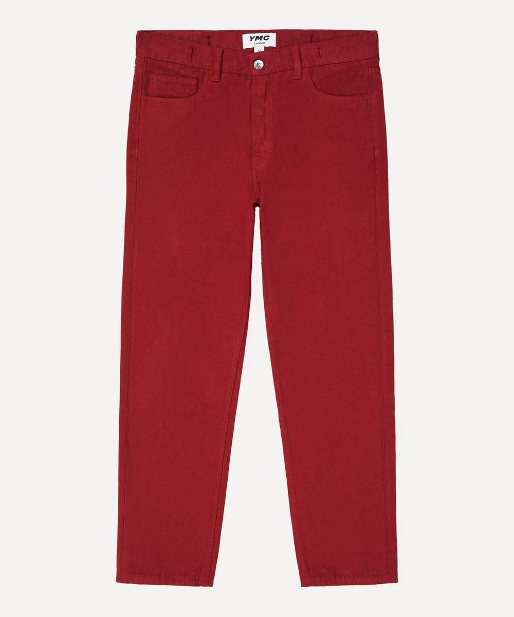 YMC - Tearaway Cotton Canvas Jeans