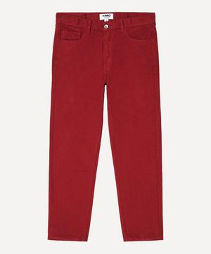 Tearaway Cotton Canvas Jeans