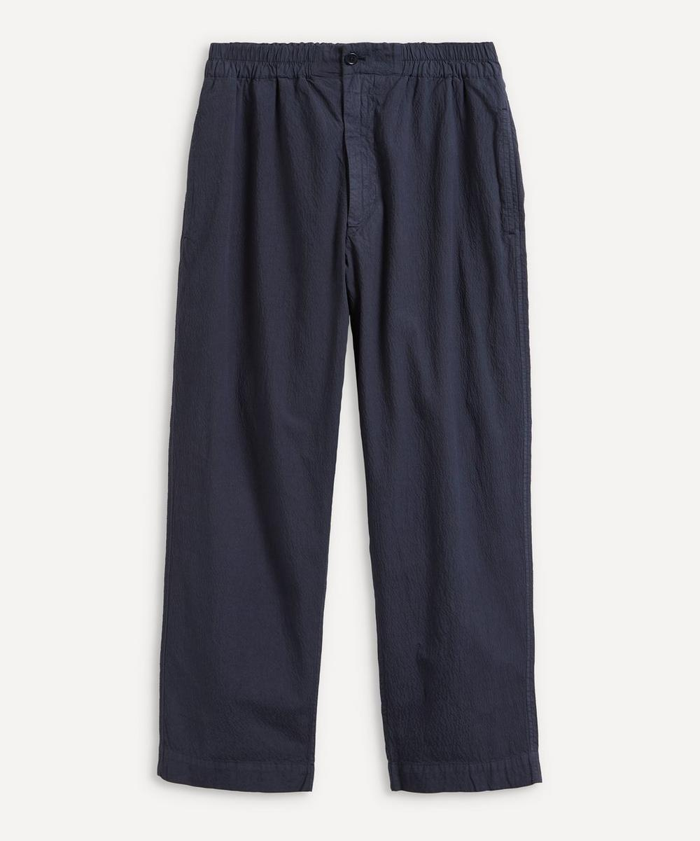 YMC - Balloon Seersucker Trousers