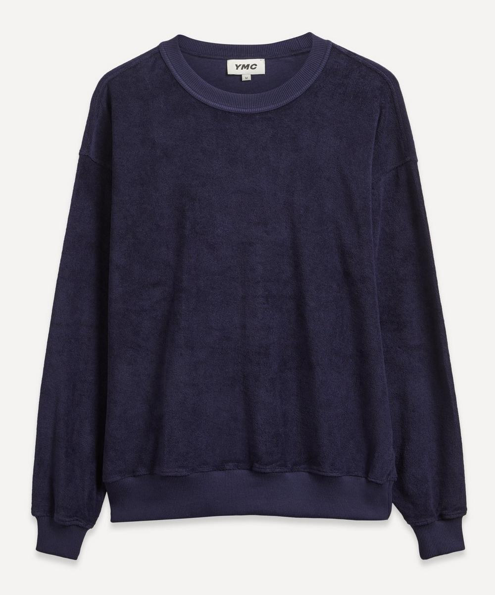 YMC - Daisy Age Towelling Sweatshirt