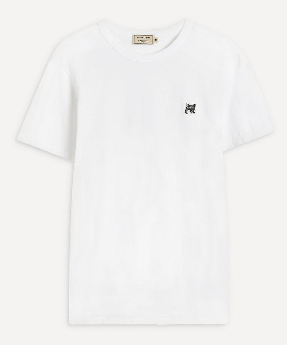 Maison Kitsuné - Grey Fox Head Patch T-Shirt