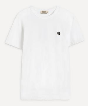 Grey Fox Head Patch T-Shirt