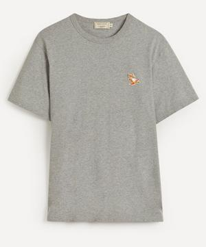 Chillax Fox Patch T-Shirt