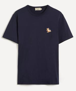 Chillax Fox Patch T-Shirt